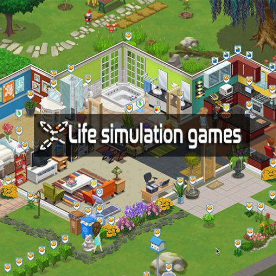 Life simulation games