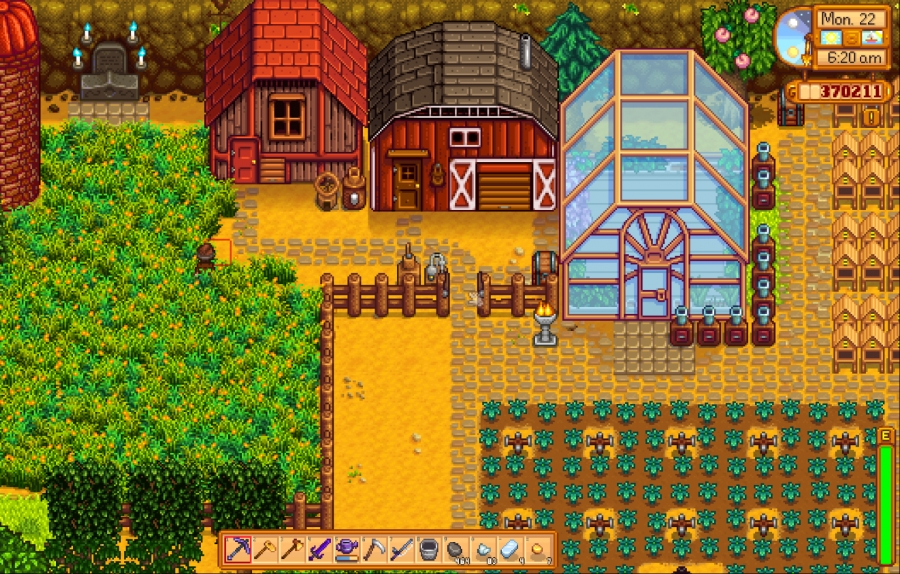 Stardew Valley Coop and Barn
