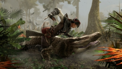 Killing an Alligator in AC Liberation