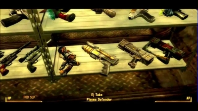 Fallout: New Vegas – Unique Weapons