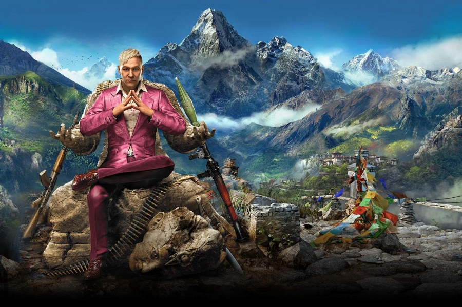 Far Cry 4 characters