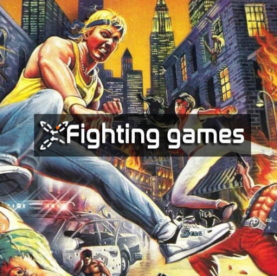 Fighting games and beat 'em ups