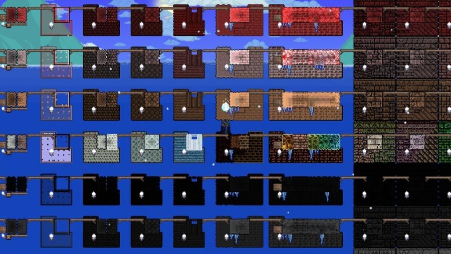 Terraria Best Building Blocks