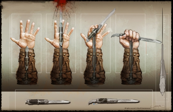 Assassin's Creed III Weapons