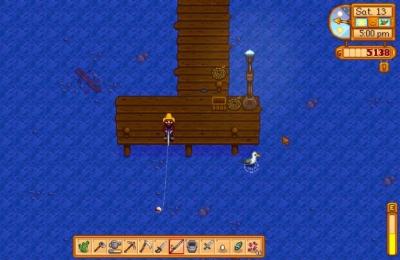 How to fish in Stardew Valley?
