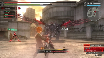 GOD EATER 2 Rage Burst Gameplay