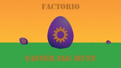Factorio easter egg hunt