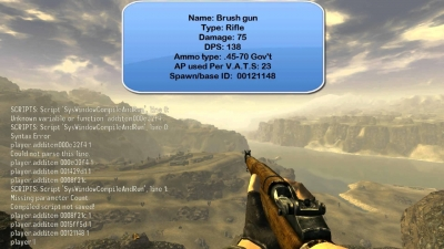 Fallout: New Vegas – Item Codes