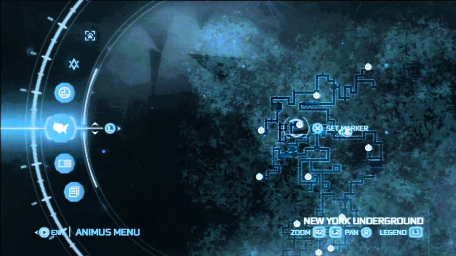 Map Of New York Underground Tunnels In Assassins Creed 3.Ac3 New York Underground Fast Travel Stations Gamespedition Com