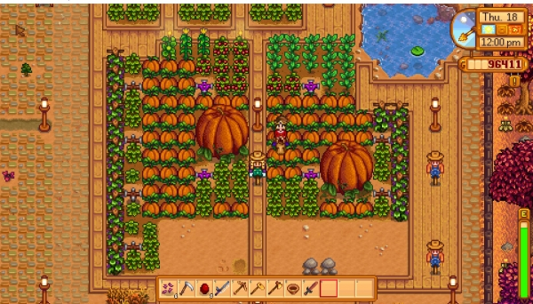 Giant Crops in Stardew Valley