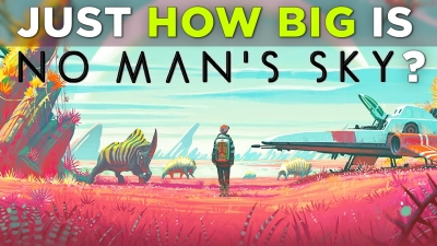 How big is no man's sky